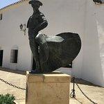 Outside of plaza de toros museum