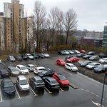 A good sized car park