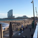 Blick von der Barcelonetta