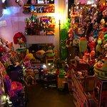 antique stuffed corner