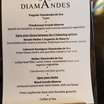 Lunch with wine pairings at Bodega DiamAndes