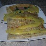 Asparagus crepe with Black Forest Ham
