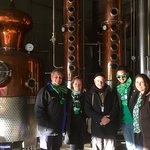 At the Hardshore Distillery with James