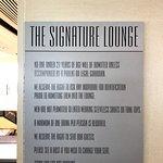 Foto de Signature Lounge