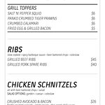 Grill, Ribs and Schnitzels
