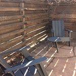 Farm room private patio