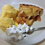 Apple Pie, Big Sur Restaurant, San Simeon, CA