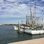 Singleton fishing boats