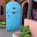 Front Door, El Chorlito Mexican Restaurant, San Simeon, CA