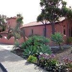Building front, El Chorlito Mex. San Simeon, CA