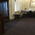 The reality of the hotel versus the promise. Photos of Privilege room and view plus old people's