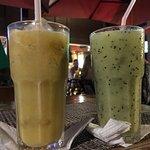 Suco de kiwi e de Seriguela