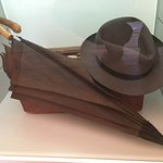 Hesse's hat and umbrella
