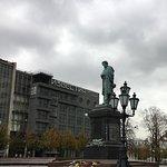 ภาพถ่ายของ Pushkin Monument