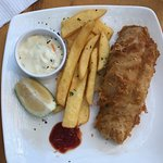 Fish & chips lunch special for R50