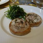 porchetta tiède de lapin