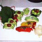 All vegan sushi by feeling Koi