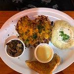 Rosemary Barbeque Chicken Platter