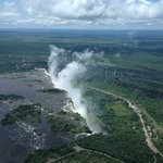 Victoria Falls 5 minutes away by helicoter