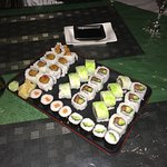 Reasonably priced plate of delicious sushi!