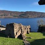 The Loch overlooking Urquhart Castle