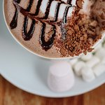 Hot chocolate from The Druie Café