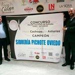 Sidrería Pichote Campeón del Mejor Cachopo 2018