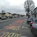 Very wide Main Street in Cookstown