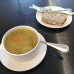 Vegetable Soup and Wheaten bread