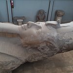 The huge statue of Ramses
