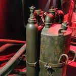 """""""In Flanders Museum"""": Chlorgas-Behälter"""