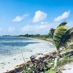 De baai waar Maya Luna ligt