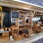 Handmade bread selections