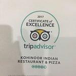Photo de Kohinoor Indian Restaurant & Pizza