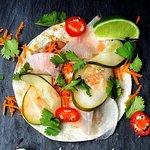 Banh Mi Chicken taco