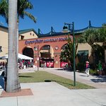 The main entrance to the ballpark.