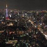 Mori tower's view