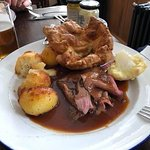 Roast beef and Yorkshire