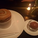 Souffle & chocolate sorbet