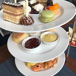 Afternoon tea was a delight
