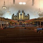 view from the back of the Tabernacle