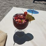 Sangria straight to my sunbed