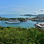 Castries, capital city/port