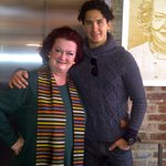 Legendary James Beard Award winner Lydia Shire and son, Alex Pineda