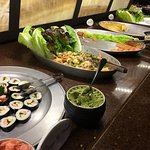 Salad bar included with $50 meatfest