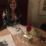 Gill at Café Rouge was excellent in every way, she went the extra mile and got us a rose on our