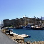 Kyrenia Castle from the breakwater.