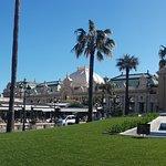 Overlooking the casino