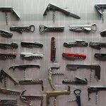 Many types of corkscrews.