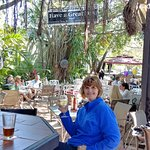 Always a great meal at Crawdaddy's!  The outdoor bar was perfect for a cooler, beautiful FL day!